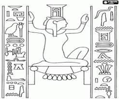 imagenes egipcias para imprimir juegos de antiguo egipto para colorear imprimir y pintar 2