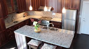 white kitchen countertops with brown cabinets 15 different granite kitchen countertops home design lover