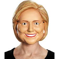 hillary clinton mask funny political costume halloween