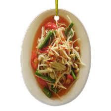thai food ornaments keepsake ornaments zazzle