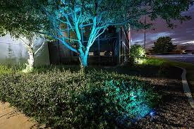 color changing landscape lighting rgb in ground led landscaping