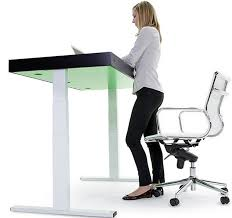 Diy Adjustable Height Desk by Stir Kinetic Desk Increases Productivity And Helps Burn Fat While