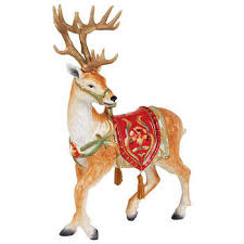 Moving Reindeer Christmas Decorations by Holiday Decor Costco