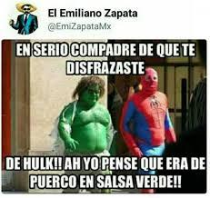 Memes De Hulk - dopl3r com memes en serio compadre de que te disfrazaste de hulk