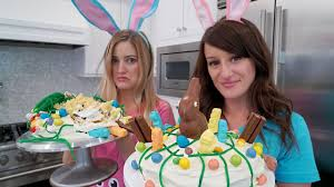 Easter Cake Decorations Youtube by Easter Cake Decorating Challenge Youtube