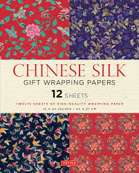 silk gift wrapping papers book by tuttle publishing