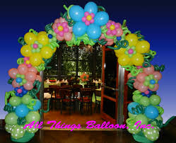 decor how to make flower balloon decorations popular home design
