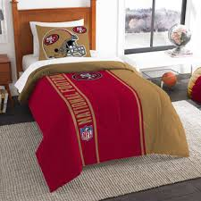 49ers Bed Set San Francisco 49ers Blankets 49ers Bedding Pillows Bathroom