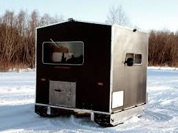 Ice Castle Fish House Floor Plans by Yooper Crawler A Self Propelled Ice Fishing Shanty Rays