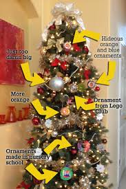 an im perfectly beautiful christmas tree science of parenthood tree