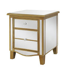 Affordable Mirrored Nightstand Best 25 Mirrored End Table Ideas On Pinterest Mirrored