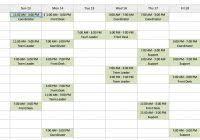 restaurant employee schedule template excel yoga spreadsheet