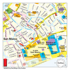 venice map venice city guide by maps