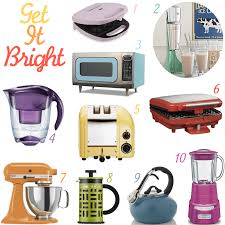 colorful kitchen appliances 10 colorful kitchen appliances