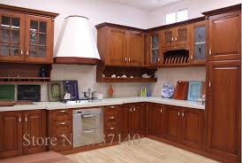 Solid Wood Kitchen Cabinets Review Online Get Cheap Kitchen Cabinets Factory Aliexpress Com