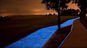 Glow In The Dark Lights A Mesmerizing Glow In The Dark Bike Path Unveiled In Poland Colossal