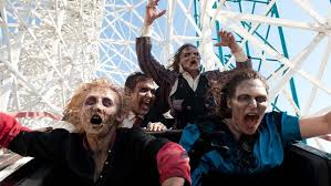 six flags magic mountain fright fest in valencia halloween thrills