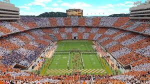 University Of Tennessee Parking Map by University Of Tennessee Athletics