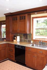mission style cabinets cherry mission style cabinets kitchen