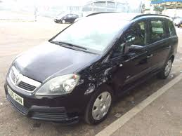 opel meriva 2006 black vauxhall zafira life 1 6 petrol manual 2006 black 7 seater new mot