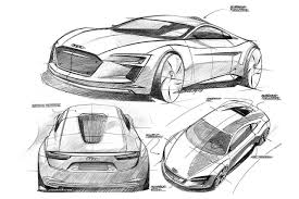porsche mission e sketch frankfurt 09 u0027 preview audi e tron electric concept supercar