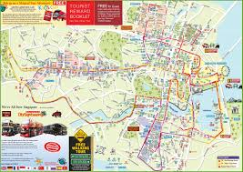 Hop On Hop Off New York Map by Singapore Tourist Map