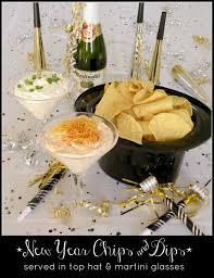New Year S Eve Dinner Ideas I U0027ve Done The Hat Idea And Love The Dips In The Glasses New