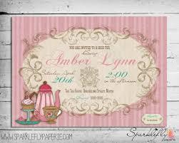 free printable bridal shower tea party invitations spring tea poster google search friendship tea pinterest teas