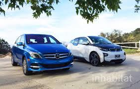 bmw 3i electric car test drive bmw i3 vs mercedes b class electric which