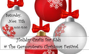 holiday crafts for kids the germantown christmas festival