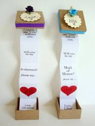 gifts to ask bridesmaids to be in wedding how to propose to your bridesmaids messages box and gift