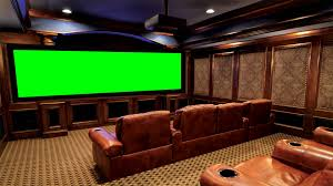 vip home cinema theater in green screen free stock footage youtube