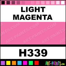 light magenta artist oil paints h339 light magenta paint