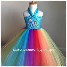 Pony Rainbow Dash Halloween Costume Tutu Costumes Girls Rainbow Dash Tutu Costumes