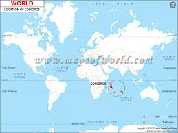 map comoros where is comoros location of comoros