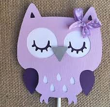purple owl baby shower decorations owl centerpieces stick owl baby shower owl theme purple owl ebay