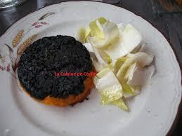 comment cuisiner le boudin noir duo de potimarron et de boudin noir la cuisine de cécile