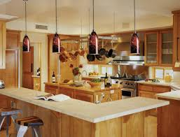 stunning hanging lights over a kitchen island on kitchen design