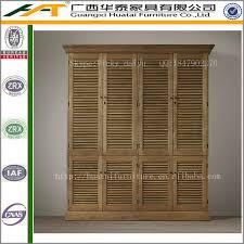 Wood Armoire Wardrobe Solid Oak Wooden Armoire Wardrobe Retro Style Furniture Buy High