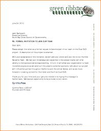 8 formal invitation letter memo templates
