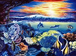 ocean life paintings undersea ocean life paintings archive thomas