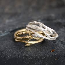 etsy rings wedding images Woodland branch twig wedding band or organic by opalwing on etsy jpg