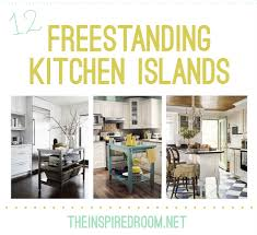 kitchens islands 12 freestanding kitchen islands the inspired room