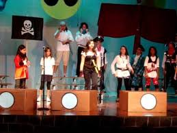the musical you wanna be a pirate