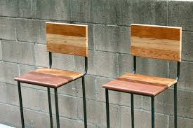 Reclaimed Wood Furniture Arbor Exchange Reclaimed Wood Furniture Metal Stools With