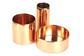 mini copper planters