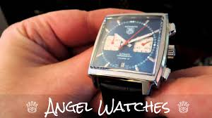 tag heuer watches tag heuer watches monaco calibre 12 youtube