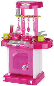 Barbie Kitchen Set For Kids Turban Toys Battery Operated Kitchen Super Set With Light And