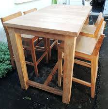 table de cuisine occasion table de cuisine haute ikea attrayant ikea table haute chaises