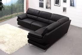 Black Leather Corner Sofa Soft Leather Corner Sofa Masimes